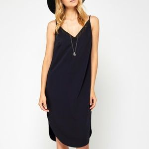 💋 HOST PICK 💋 Black Slip Dress